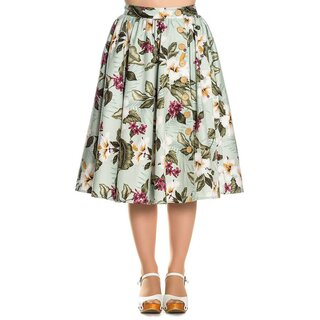 Hell Bunny Skirt - Tahiti Mint