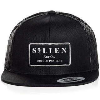 Sullen Clothing Trucker Cap - Pushin Needles Black