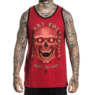 Sullen Clothing Tank Top - Red Eyes