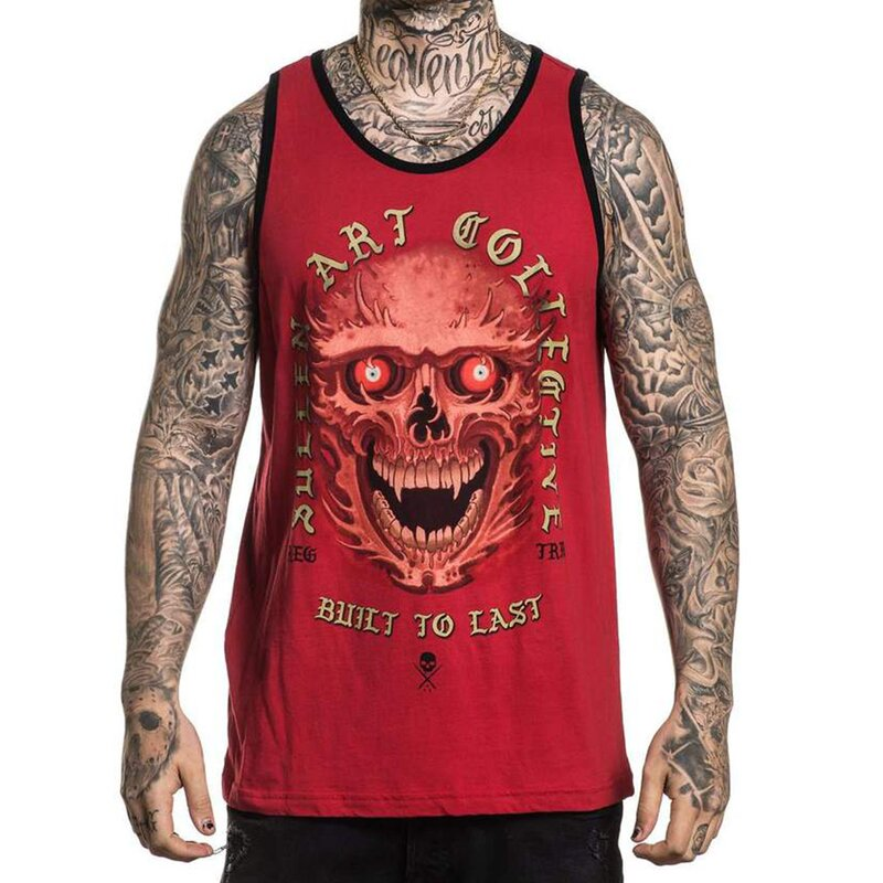 Sullen Clothing Tank Top - Red Eyes M