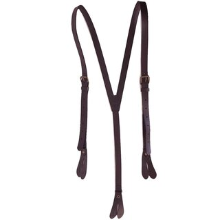 Banned Retro Lather Suspenders- Gerardo Holes Brown