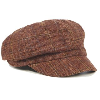 Banned Retro Newsy Cap - Newsboy Cinnamon