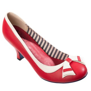 Dancing Days Pumps - Sparkle Falls Rot