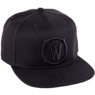 World of Warcraft Snapback Cap - Blackout