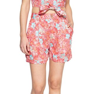Queen Kerosin Shorts - Tropical Rosé 3XL