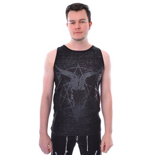 Heartless Tank Top - Pentagramm Schwarz