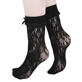 Killstar Lace Socks - Amora