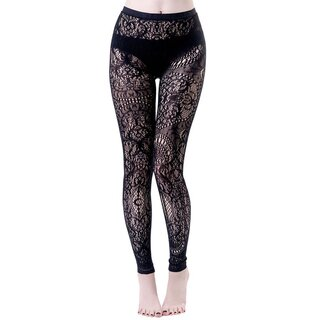 Killstar Lace Tights - Empyrean