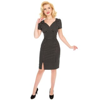 H&R London Wiggle Kleid - Amelia Polka