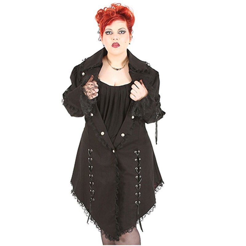 Rubiness Cappotto denim - Cappotto vittoriano Plus-Size