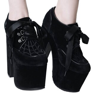 Killstar Platform Shoes - Just Buried