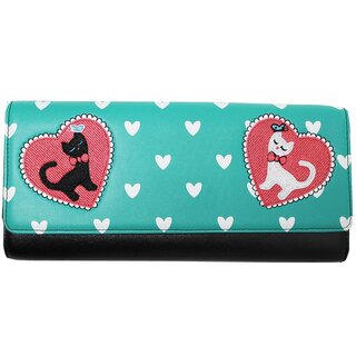Dancing Days Clutch mit Schulterkette - Cats In Love