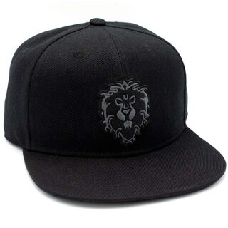 World of Warcraft Snapback Cap - Alliance Blackout