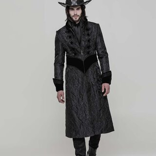 Punk Rave Gents Coat - Nocturn
