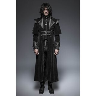 Punk Rave Gents Coat - The Ghost