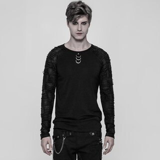 Punk Rave Long Sleeve Top - Nazgul