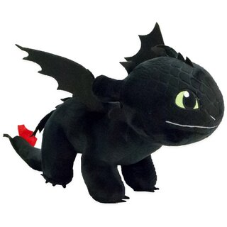 How To Train Your Dragon Plush Dragon -  Toothless 30cm