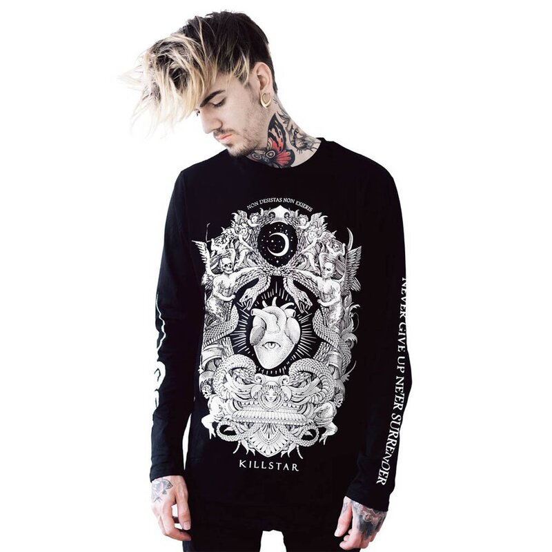 Killstar Long Sleeve T-Shirt - Never Surrender