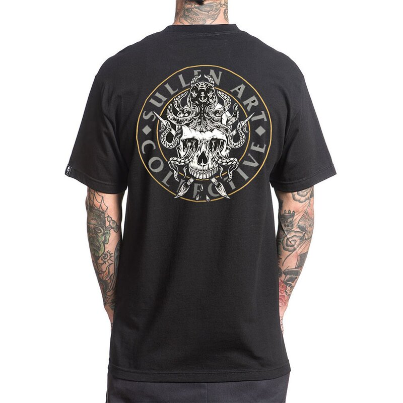Sullen Clothing T-Shirt - Octopus Badge M