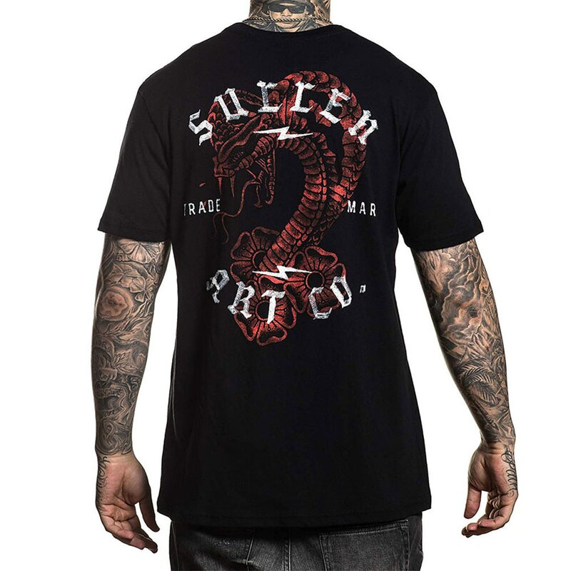 Sullen Clothing T-Shirt - Snake Wash S