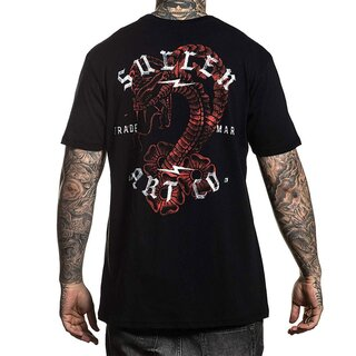 Sullen Clothing T-Shirt - Snake Wash XXL