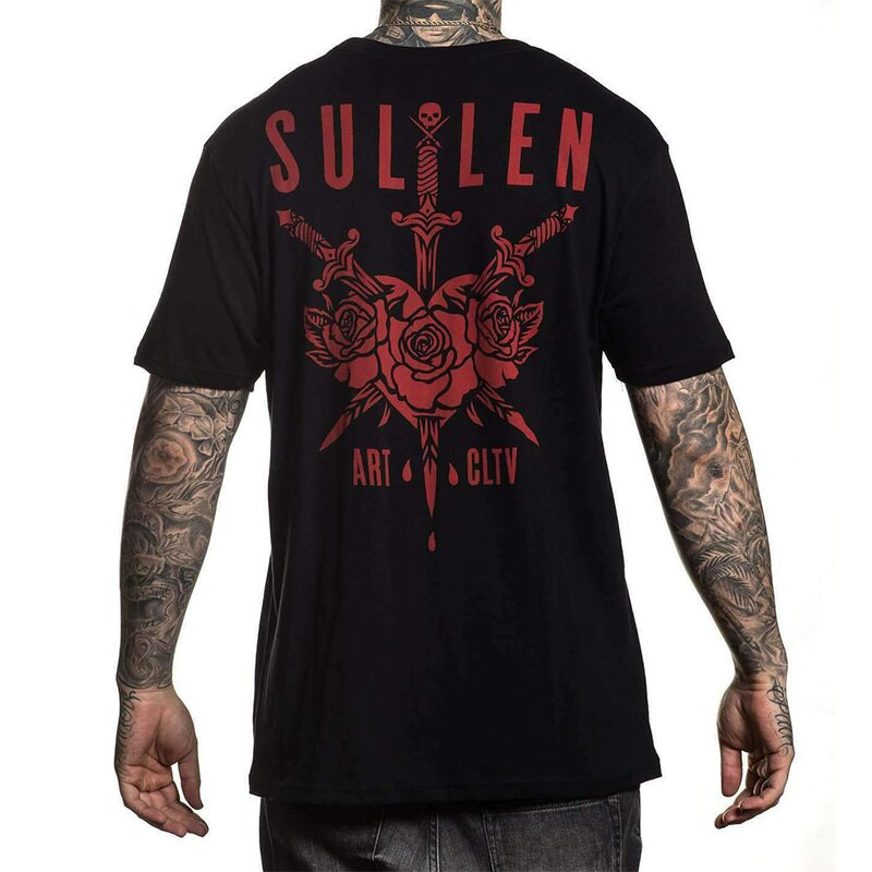 Sullen Clothing T-Shirt - 3 Swords XXL