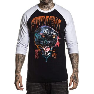 Sullen Clothing 3/4-Arm Raglan Shirt - Mashkow Panther XXL