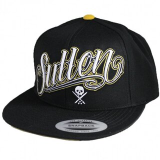Sullen Clothing Snapback Cap - Yellow Ice