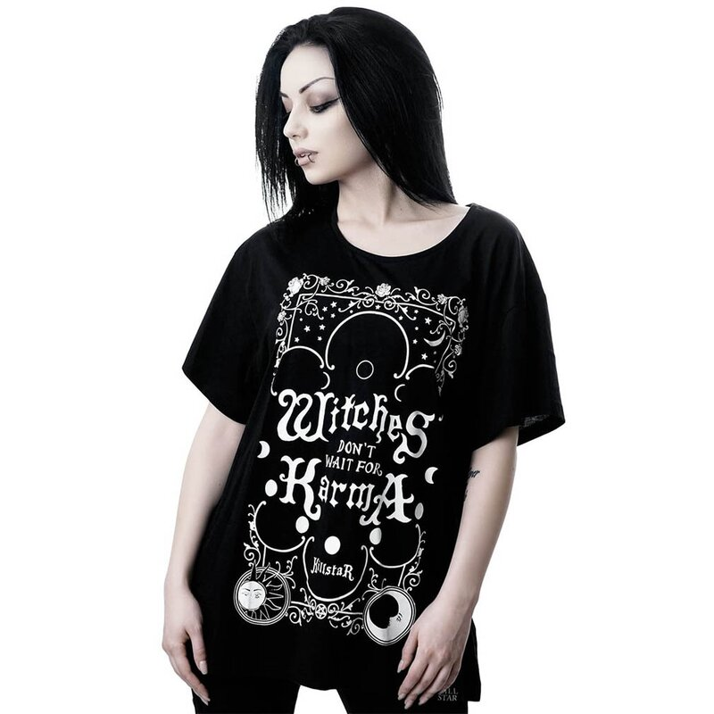 Killstar Top Relaxed Top - Karma