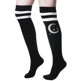 Killstar Knee Socks - Moonbeam