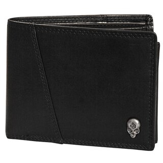 Jacks Inn 54 Leather Wallet - Bramble Black