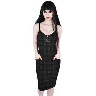 Killstar Pencil Dress - Darklands Tartan
