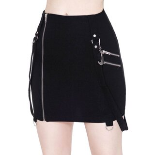 Killstar Mini Skirt - Adele Black
