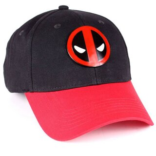 Deadpool Baseball Cap - Metal Logo