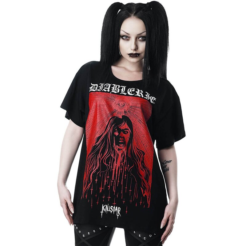 Killstar Relaxed Top - Diablerie M