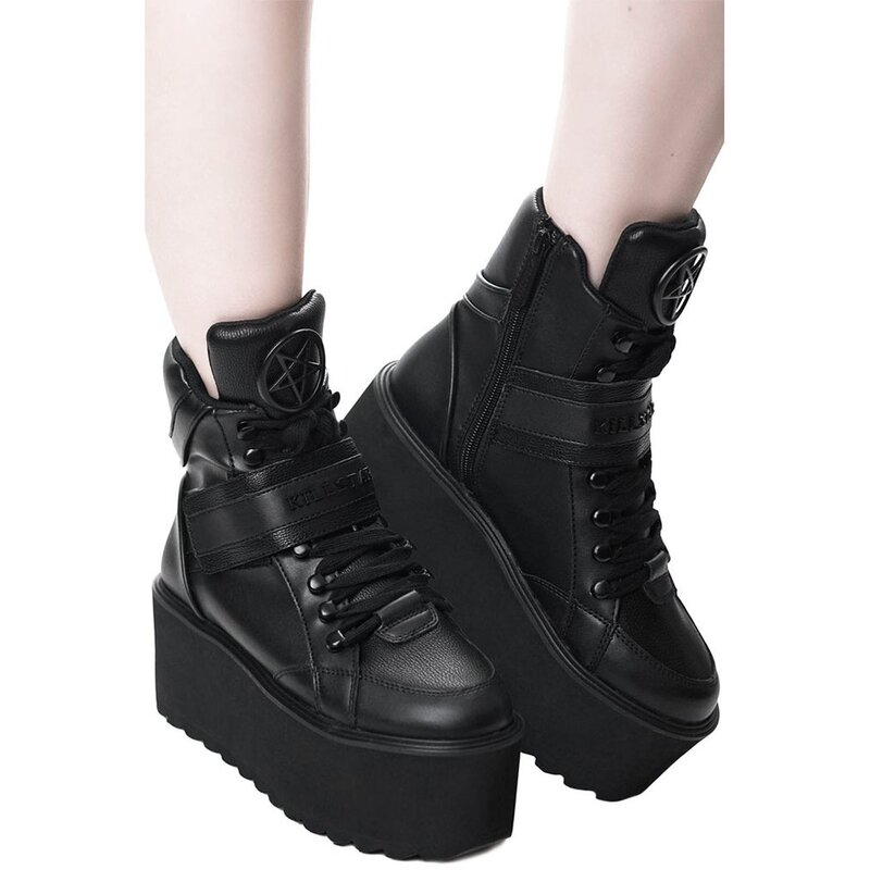 Killstar High Top Plateausneakers - Headliner