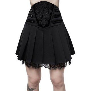 Killstar Pleated Mini Skirt - Abbey