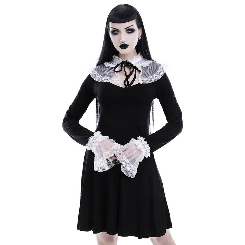 Killstar Mini Dress - Forgive Me Father
