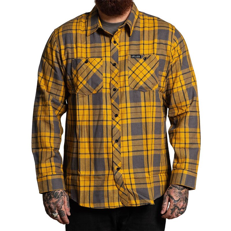 Sullen Clothing Flanellhemd - Dirty Melon