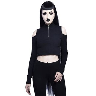 Killstar Long Sleeve Top - Phoebe Black