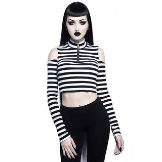 Killstar Long Sleeve Top - Phoebe White