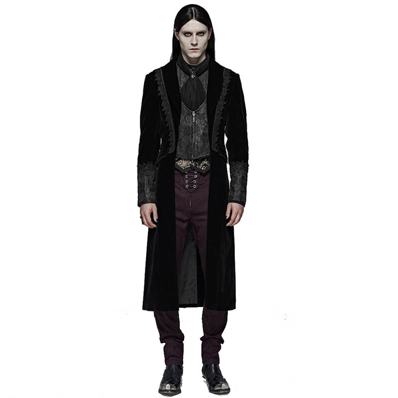 Punk Rave Herren Mantel - Royal Vampire M