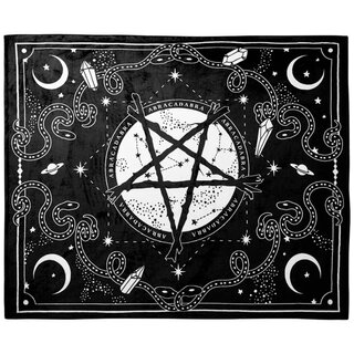 Killstar Fleece Blanket - Blessed Be