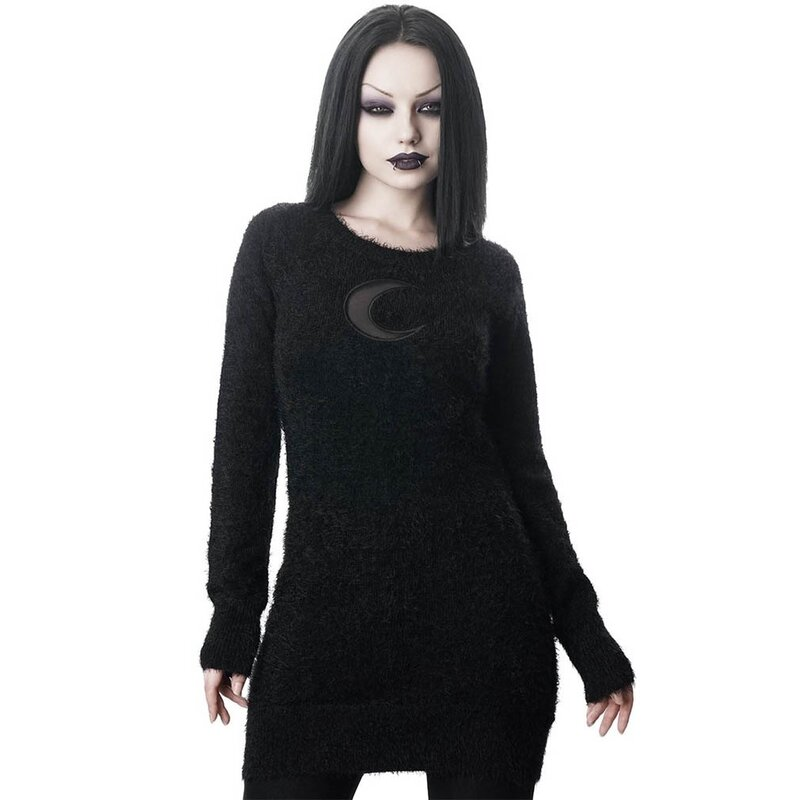Killstar Sweater Minikleid - Mona