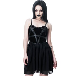Killstar Gothic Mini Dress - Draconian