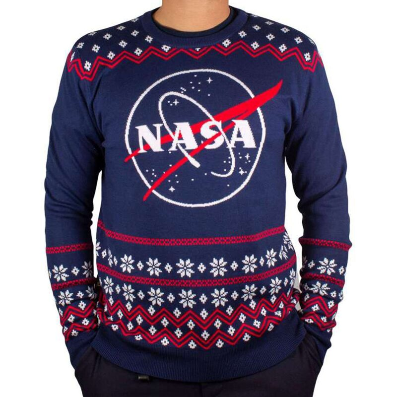 NASA Strickpullover - Ugly Christmas Sweater