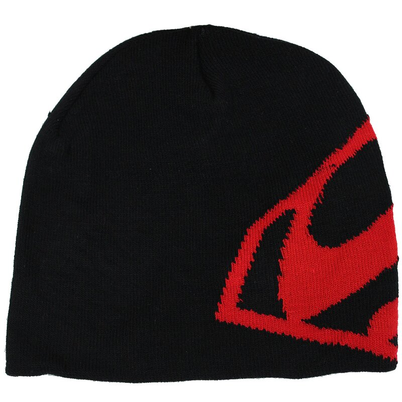 Superman Beanie - Black and Red