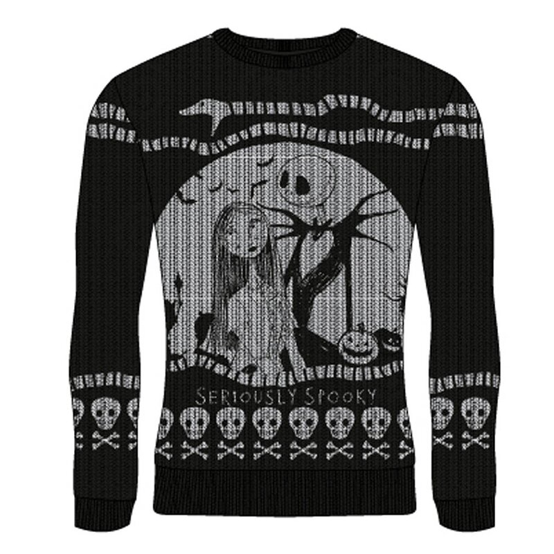 Nightmare Before Christmas Weihnachtspullover - Seriously Spooky XL