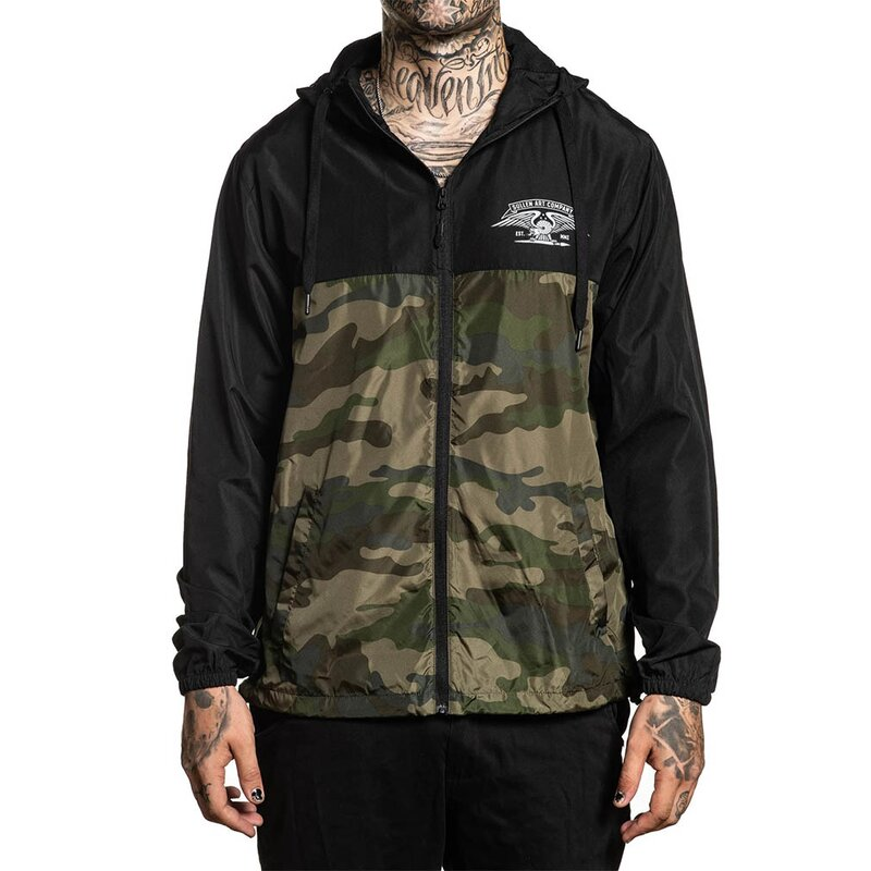 Sullen Clothing Windbreaker Jacke - Division 3XL