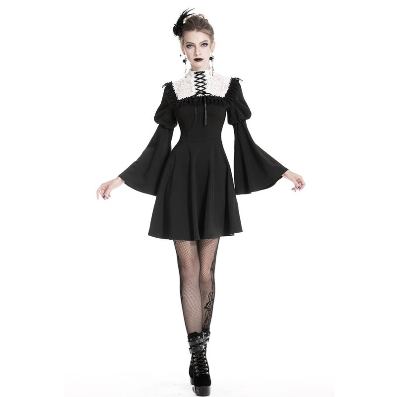 Dark In Love Minikleid - Cute Goth L